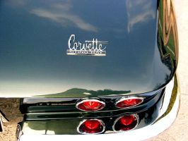 427 corvette  rear by puddlz