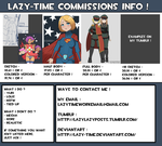 Commissions Info by lazy-Time