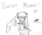 Sailor Moon sketch o3o by katieleesa