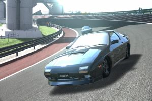 2 RX7 at Cape Ring by NightmareRacer85