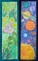 bookmarks - garden variety and solar system by Starjuice