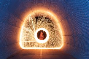 Steel Wool Tunnel by insanium12