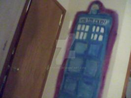 My tardis (wip Painting) by Delta-kitty