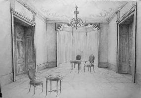 Interior of the palace by Ewwwa