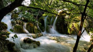 Plitvice Waterfall III by Luke-ro
