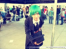 Hazama (Blazblue) Cosplay by ArieruCosplay