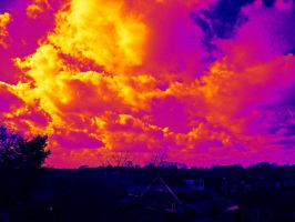 Clouds in the sunshine Thermal by Bexiieeee