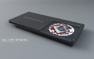 my slim ps3 concept by 3DEricDesign