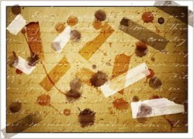Stains and Scotch Tape by flordelys-stock