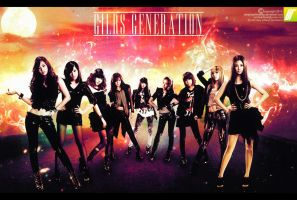GIRLS GENERATION-SNSD by iamjosephhrandy