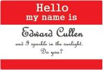 Hello my name is. . . by starbuxx