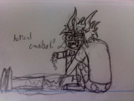 Actual Cannibal? by Shadow-Daemon-13