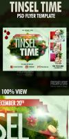Tinsel Time Christmas Flyer Templates by ImperialFlyers