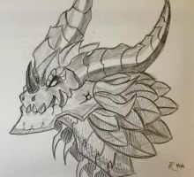 Deathwing by flamefeathertail