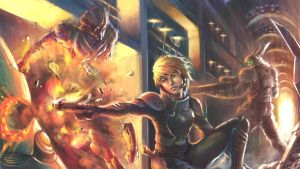 Appleseed Ex Machina--action by alvinwcy