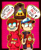 WELCOME TO GRAVITY FALLS by Caramelkeks