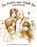 The Prefect Says Thank You by Sirilu