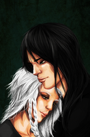 Faelyn and Narfi by Kuneria