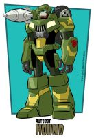 Transformers Animated Hound by iq40