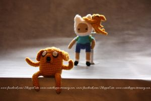 Jake the Dog Amigurumi by Cyntendo