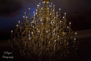 Be Our Guest- Chandelier by sayuri13
