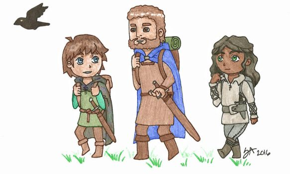 Deltora Quest Wind Waker Style by Strange-Argument