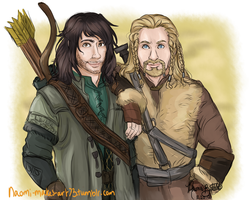 Hot Dwarf Brothers?! by naomi-makes-art73
