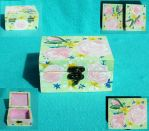 Mini Floral Jewelry Box by sweetpie2