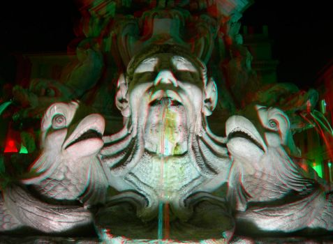 Rome 30 3D Anaglyph by yellowishhaze