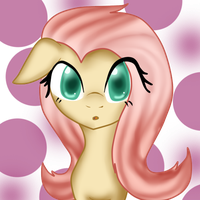 Fluttershy :P by ToonZelinkFanForever