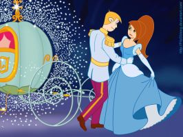 Kim and Ron in Cinderella by FitzOblong