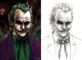 The Clown Prince of Crime by KennyGordon
