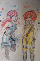 Skylor and Seliel by Squira130