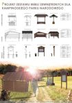 Forest furniture for Kampinoski National Park by MBudyta