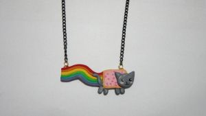 Nyan Cat Necklace by Artjoy