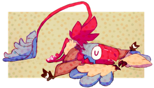 what if??? i switched my main pokesona. what if by ScarfFetish