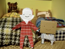 Sleepover Diorama by philippajudith