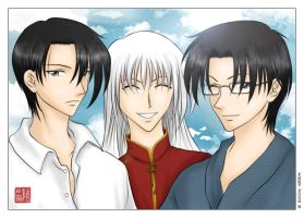 fruits basket - mabudachi trio by weem