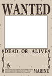 Wanted Poster Base by Lionenda