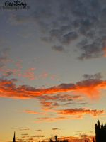 Orange Sunset by ceciliay