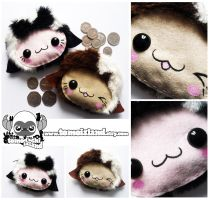 USHI - Kawaii Cow Coin Purses by TomodachiIsland