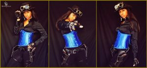 SteamPunk Cowgirl (Lady Jacqueline) by MakeupSiren