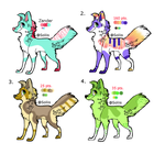 Dog Adopts Set 2 (OPEN) by Soliis