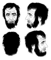Abe Lincoln Character Concept by CCrumpler