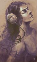 music inspired woman by GatoDelCielo