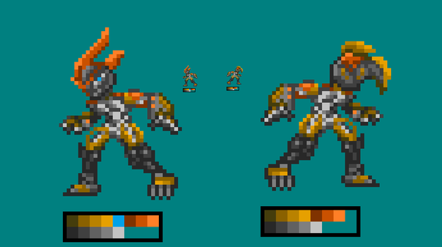 Ember in MMZX Style by Haiova