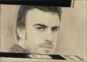 Fernando Alonso by dhffy