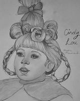 Cindy Lou: Santa, what's the meaning of Christmas? by AlyssiaJayde