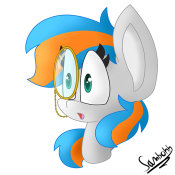 Monocle Pone by SammiFX