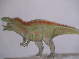Acrocanthosaurus atokensis by Teratophoneus